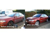 Mobile car valeting and detailing service covering Yorkshire.