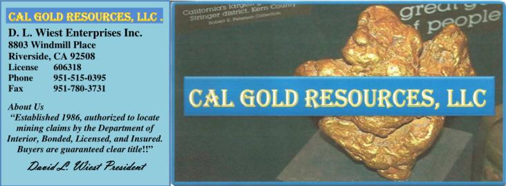 Cal Gold Resources, LLC.