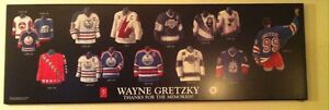 NHL HOCKEY PLAQUES, MAPLE LEAFS, GRETZKY, OLD TIMERS Cambridge Kitchener Area image 3