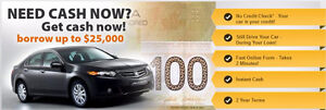 Quick Cash Vancouver, #1 Car Title Loan, BORROW UP TO 25K!
