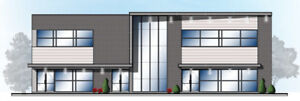Local commercial et bureau neuf à vendre ou à louer La Prairie