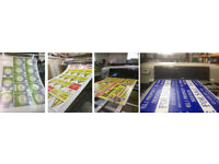 Labels, Stickers Posters Banners and temporary event plastic road side signs