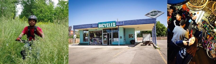 Lucky Bikes Re-Cyclery