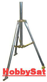 Dish tripod, self-supporting tower, 2 feet with mast. DGA6226.