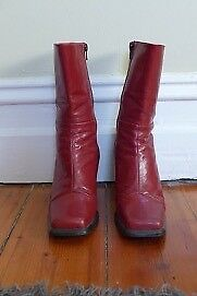 Gorgeous red boots Clifton Hill Yarra Area Preview