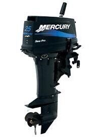 Wanted 25hp Short Shaft Outboard w/controls