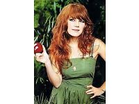 2 x Jenny Lewis @ KOKO in London Tuesday 14 August Face Value £20