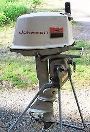 Moteur johnson 5hp
