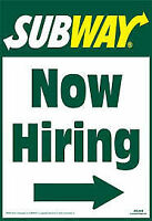 Subway West - 800 Fariville Blvd Hiring