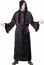 WEB KING GOTHIC OUTFIT SIZE L / XL BY SMIFFYS GREAT FOR HALLOWEEN HAVE LADIES MATCHING OUTFIT