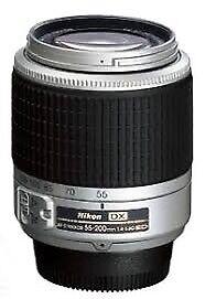 Nikon 55-200mm lens