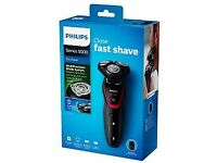 Philips Turbo+ Shaver GIFTS FOR HIM RECHARGEABLE Aquatec Series 5000 Wet Dry