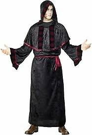 GOTHIC WEB KING BLACK VELVET FANCY DRESS OUTFIT SIZE L ALSO HAVE LADIES FOR SALE