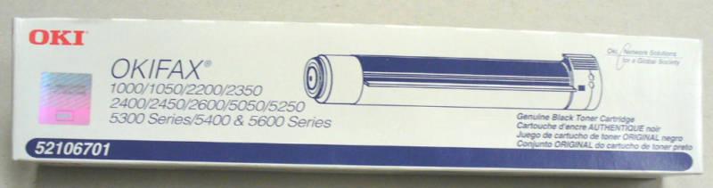 Okifax Series 1000 2000 5000 Toner Cartridge – OEM NEW