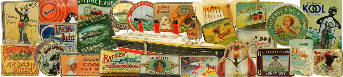 Vintage Advertising Tins