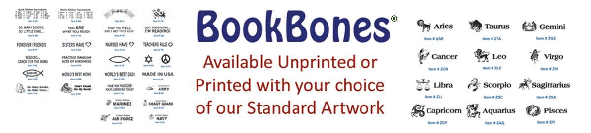 BookBone - Weighted Rubber Bookmark