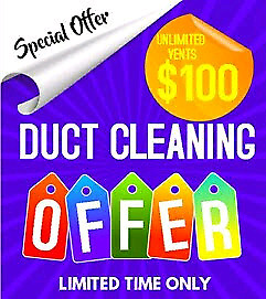 Amazing Price For Whole House Duct Cleaning $100