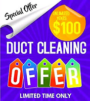 Air Duct Cleaning only $100