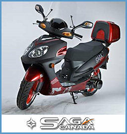 New SAGA Quest 49cc Gas Scooter/Moped on January SUPER SALE Now! Edmonton Edmonton Area image 8