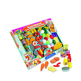 NEW: Supermarket grocery play food set