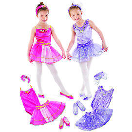 NEW:Dance Class Dress up Set(Included 2 sets of complete outfit)