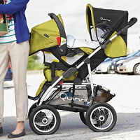 Quinny Freestyle 4XL Stroller Infant Car Seat Travel System