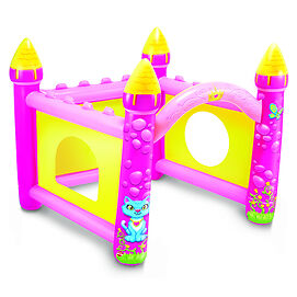 NEW: PLAY WOW Pretty Princess Blow-Up Castle Play Set