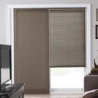 store porte patio blanc / white patio door blinds