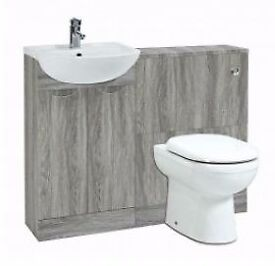 Basin and Toilet Furniture Run for £345.60