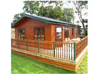 Holiday Home (Log Cabin) to let, Rockhill Park.Kerrykeel, Donegal.