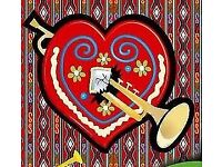 Trumpet/Brass player wanted for upbeat Gypsy/Balkan folk band