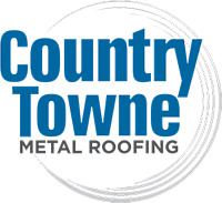 Countrytowne metal roofing