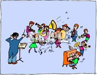 School Band private lessons