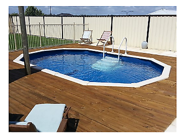 Brand New Above/in Ground Pool