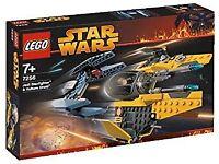 LEGO Star Wars 7256 : Jedi fighter + vulture droid