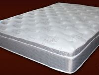 Queen size mattress Blowout Sale!Save $300,Eurotop hotel coil