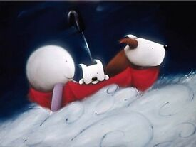 Doug Hyde Limited Edition Print - Little Explorer - 84/495 with COA