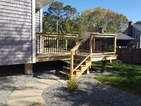 Quality deck and fences