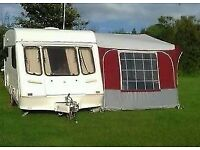 OBI President (Trio Sport) Caravan Awning - immaculate condition