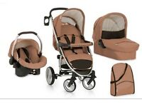 Hauck Malibu XL 3 in 1 travel system