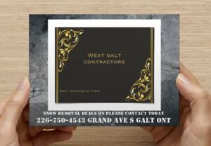 Wes the galt contractors 2017 deals Cambridge Kitchener Area image 2