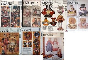 Lot of Craft Sewing Patterns ($10 for all 7)