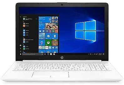 Laptop Windows - HP 15.6in HD Laptop Intel Core i3-8145U 2.1GHz 8GB RAM 1TB HDD Windows 10 White