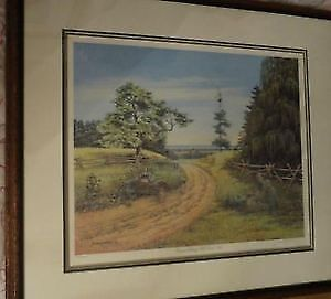 James Lumber Picture NUMBERED AND SIGNED