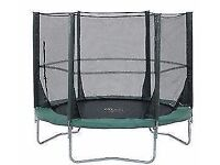 Plum 8ft Trampoline (Green and Black)