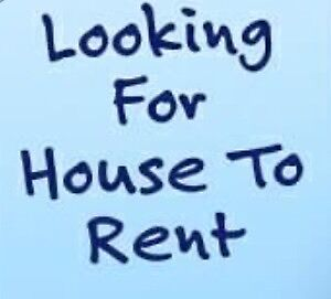House for rent needed
