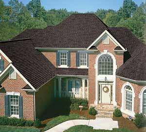 IKO Cambridge Fiberglass Roof Shingles (Dual Black)