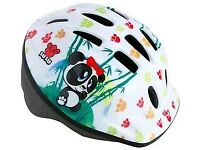 Girl's Child's adjustable cycling helmet Lulu - bike - cycle - As new - 48-52cm - Kid's