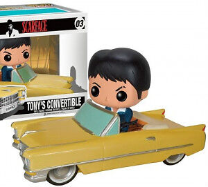 Scarface Pop! : Tony In 64 Cadillac Convertible at JJ Sports
