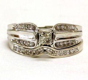 Vintage White Gold Wedding Ring